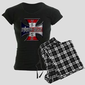 Puerto rican warned you about Women's Dark Pajamas