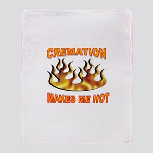 START THE FIRE Throw Blanket