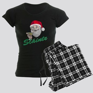 Slainte Merry Christmas Women's Dark Pajamas