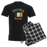Irish Grils Rock Men's Dark Pajamas
