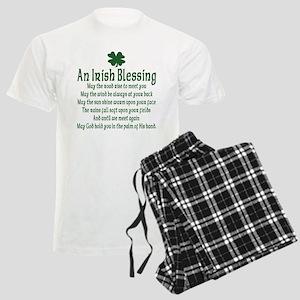 Irish Blessing Men's Light Pajamas