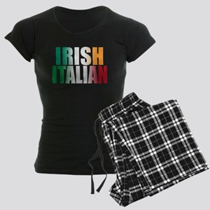 Irish Italian Women's Dark Pajamas