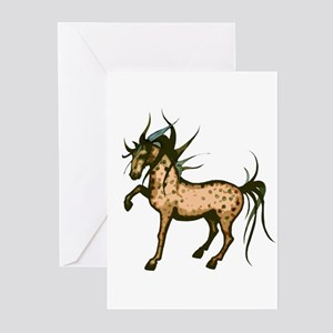 Wild and Free Horse  Greeting Cards (Pk of 10)