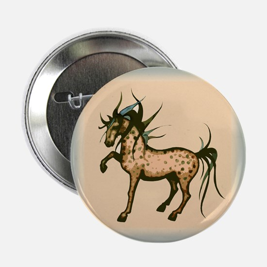 Wild and Free Horse Button