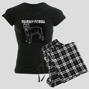 HPwhitedogB Women's Dark Pajamas