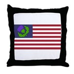 Scottish American Throw Pillow