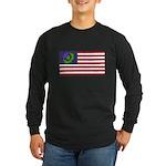Scottish American Long Sleeve Dark T-Shirt