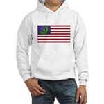 Scottish American Hooded Sweatshirt