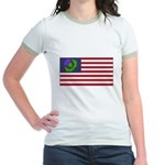 Scottish American Jr. Ringer T-Shirt