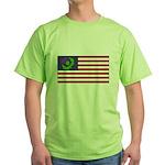 Scottish American Green T-Shirt