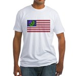 Scottish American Fitted T-Shirt