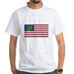 Scottish American White T-Shirt