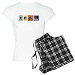 Multi Sport Guy Women's Light Pajamas