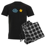 Rock Star Men's Dark Pajamas