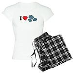 I Love Rocks Women's Light Pajamas