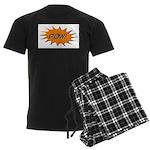 Pow! Men's Dark Pajamas