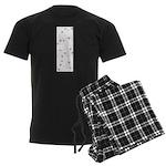 Sun Symbol Men's Dark Pajamas