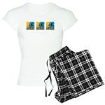 Waves Women's Light Pajamas