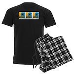 Waves Men's Dark Pajamas