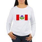 Scottish Canadian Women's Long Sleeve T-Shirt
