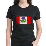 Scottish Canadian Women's Dark T-Shirt