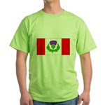 Scottish Canadian Green T-Shirt