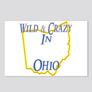 Wild & Crazy in OH Postcards (Package of 8)