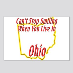 Can't Stop Smiling in OH Postcards (Package of 8)