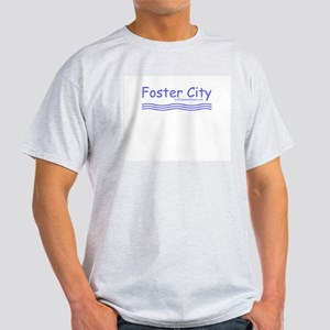 Foster City Waves - Ash Grey T-Shirt