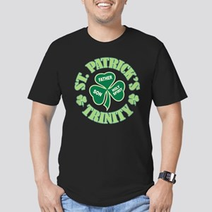 Patricks Trinity Men's Fitted T-Shirt (dark)