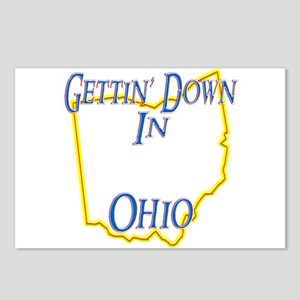 Gettin' Down in OH Postcards (Package of 8)