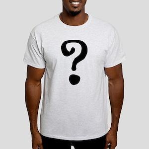 Question Mark Light T-Shirt