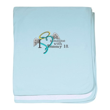 Love an angel with Trisomy 18 baby blanket