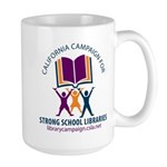 Campaign for Strong School Libraries Large Mug
