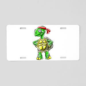Ninja Turtle Tortoise Aluminum License Plate