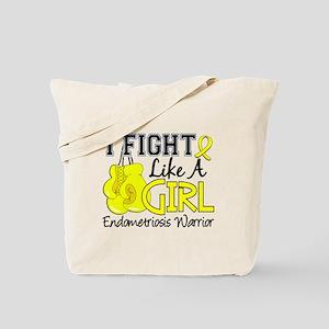 Licensed Fight Like A Girl 15.2 Endometri Tote Bag