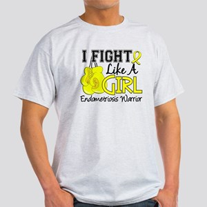 Licensed Fight Like A Girl 15.2 Endo Light T-Shirt