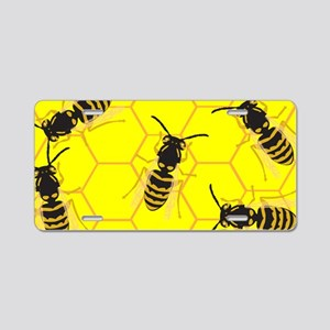 Beehive Aluminum License Plate