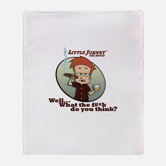 What the F#*k ... Throw Blanket