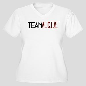 Team Alcide Women's Plus Size V-Neck T-Shirt