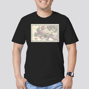 Vintage Map of The Roman Empire (1862) T-Shirt