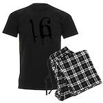 16th Birthday Men's Dark Pajamas