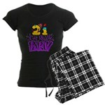 21st Birthday Party Favors! Women's Dark Pajamas