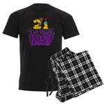 21st Birthday Party Favors! Men's Dark Pajamas