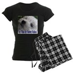 21st Birthday Gifts, Westie T Women's Dark Pajamas