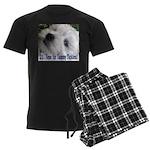 21st Birthday Gifts, Westie T Men's Dark Pajamas
