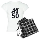 Great 50th Birthday Women's Light Pajamas