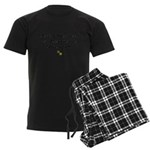 50th Birthday Men's Dark Pajamas