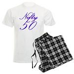 Nifty Fifty, 50th Men's Light Pajamas