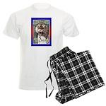 50th Birthday Gifts, Tigress Men's Light Pajamas
